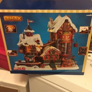 Lemax Christmas Elf Made Toy Factory